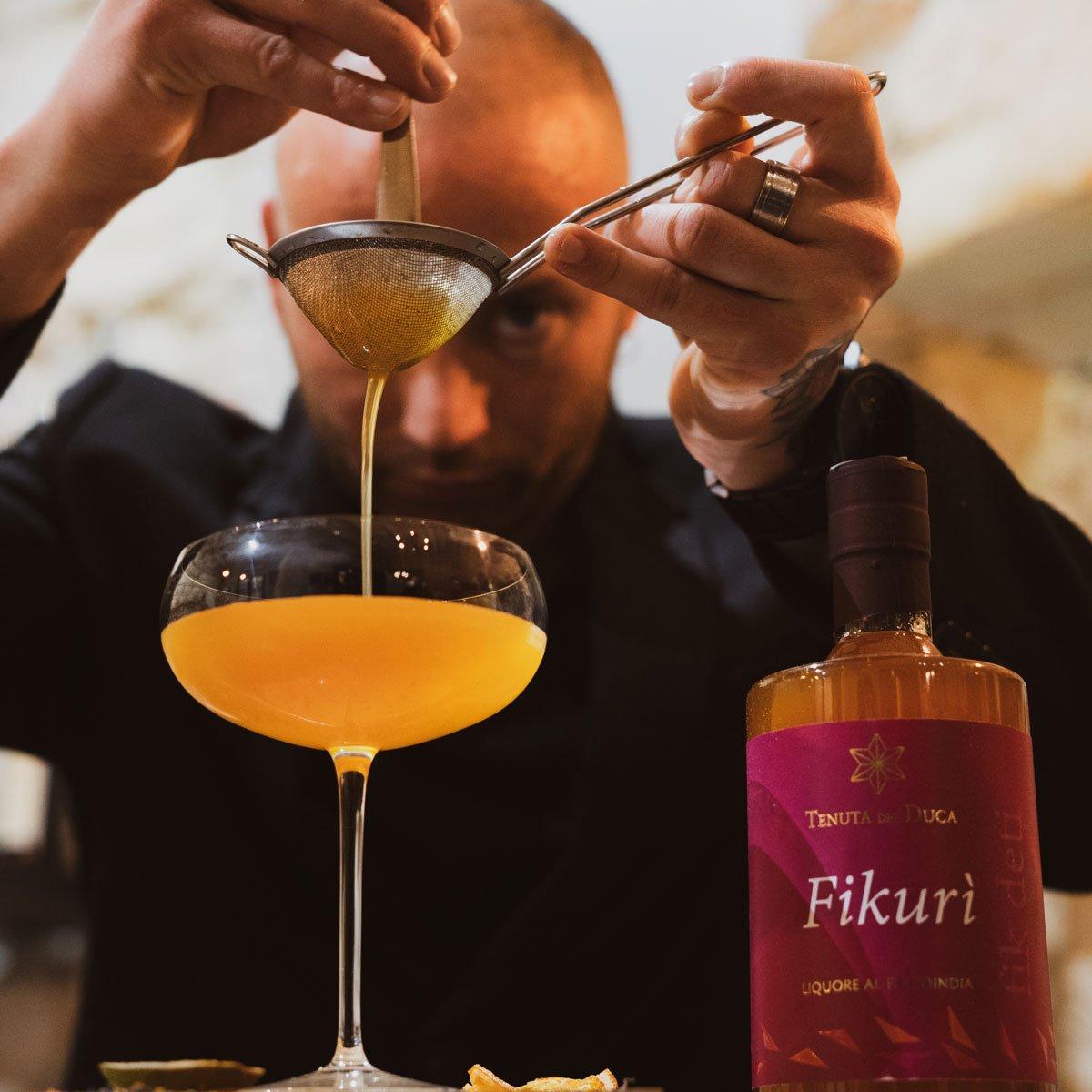 Cocktail con crema di liquore - Tenuta del Duca