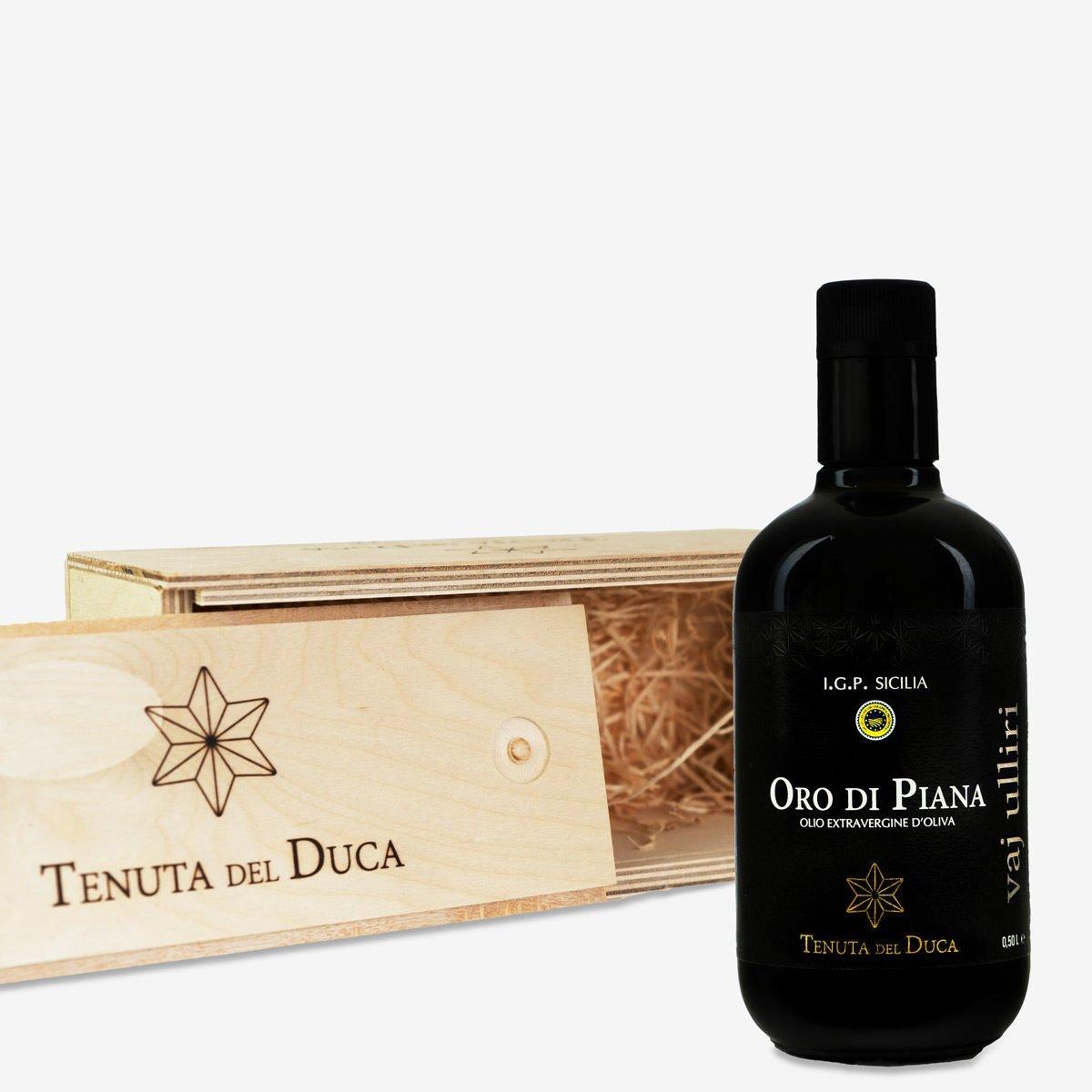 Oro di Piana Cassetta in legno Prodotti - Tenuta del Duca