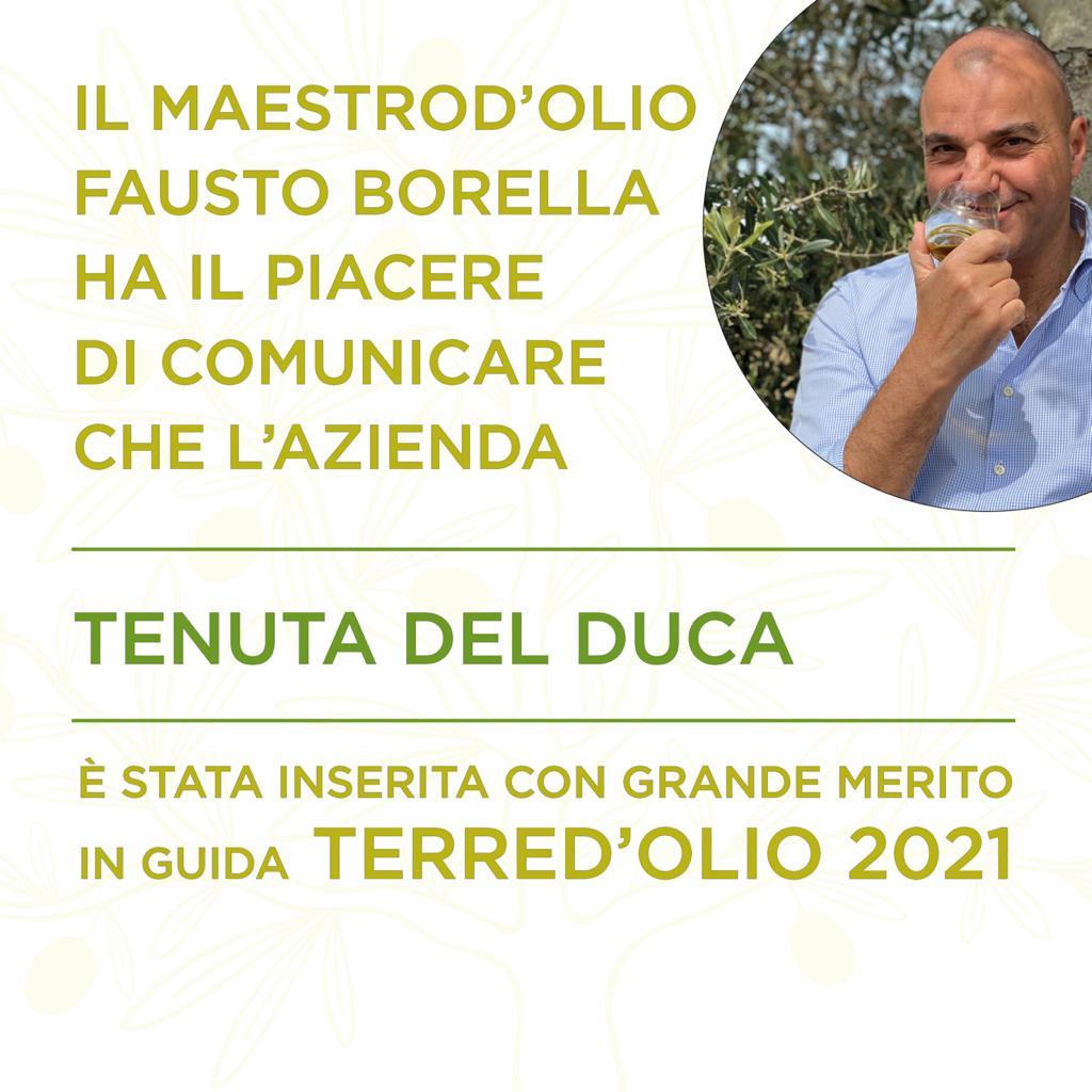 Maestro d'olio Fausto Borella - Tenuta del Duca